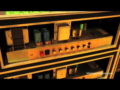 D-A-D guitar rig tour / Vintage Guitar Show Svendborg 2011 / Vintage&RareTV