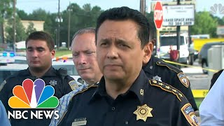 Houston Police Announce Capture Of Man Wanted For At Least Three Murders | NBC News