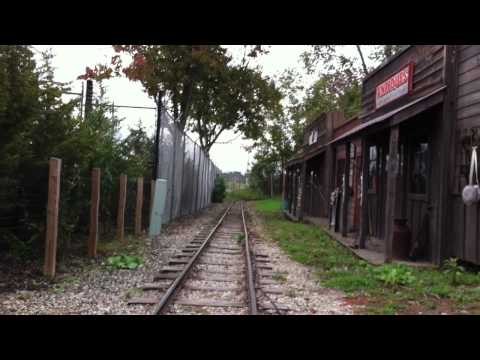 Columbus Zoo & Aquarium North American Train Reverse POV