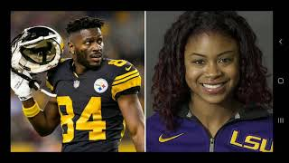 I like how blk women are silent about antonio brown/britney taylor...👀👀