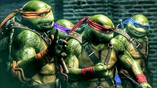 Injustice 2: Teenage Mutant Ninja Turtles Gameplay 10 Minutes