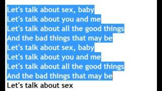 Let's talk about sex lyrics