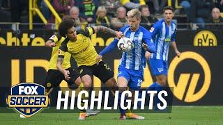 Borussia Dortmund vs. Hertha BSC Berlin   2018-19 Bundesliga Highlights