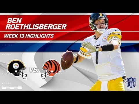 Ben Roethlisberger's 17-Pt Comeback Win vs. Cincy! | Steelers vs. Bengals | Wk 13 Player Highlights