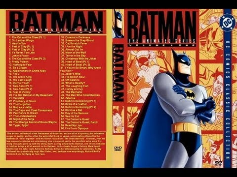 Batman: The Animated Series - Volume One Dvd (review) video