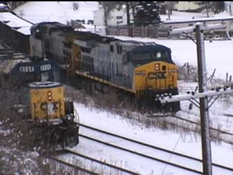 0 Lunging locomotives finally grip the rails as CSX 419 stalls. PART I... Read story...