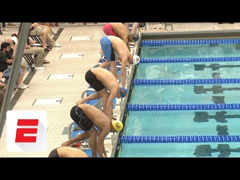 Watch All Of Caeleb Dressels' Record-breaking Races During The 2018 NCAA Men's Championships   ESPN