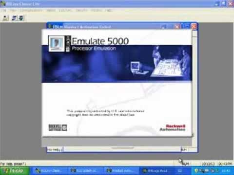 Tutorial RSLogix 5000, RSLinx Classic, RSLogix Emulate 5000