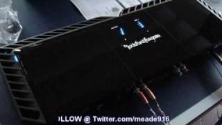 Powering Up a Rockford Fosgate T2500.1 bd - LED's