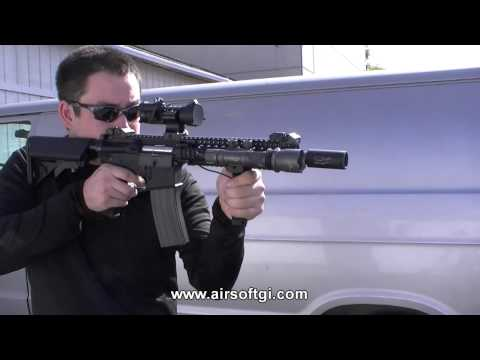 Airsoft GI - G4-A2 Blazing Hog AEG with Daniel Defense Lic. RIS
