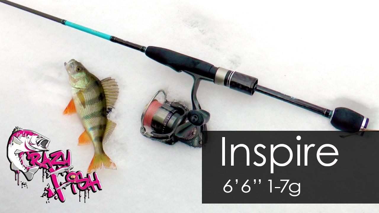 Обзор спиннинга Inspire от Crazy Fish