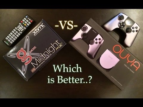 G-BOX MX2 vs THE OUYA - Which is Better?
