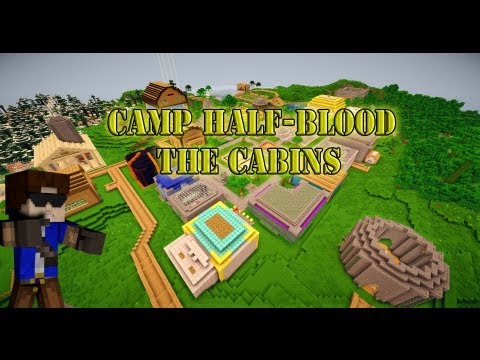 Minecraft: Percy Jackson - The Cabins
