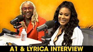 A1 And Lyrica Talk Safaree Drama, Pregnancy & Mending Their Relationship