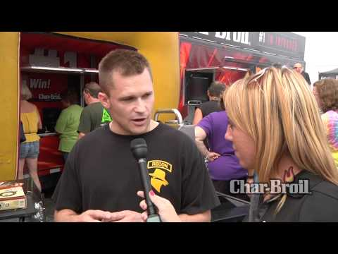 Char-Broil User Reviews From Pocono Raceway - Chris & His Char-Broil Quantum