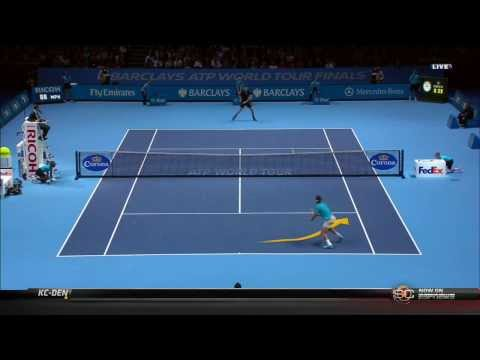 Rafael Nadal - Novak Djokovic Full Match 2013 ATP World Tour Finals, Tennis, Tennis Highlights