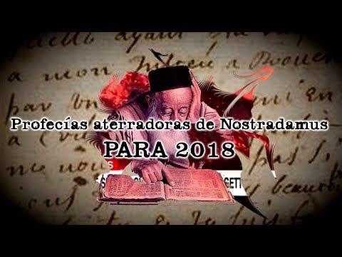 Las aterradoras profecías de Nostradamus para 2018 (by Dross)