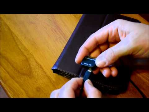Samsung Galaxy Tab 2 - Micro USB adapter replaces Samsung cable for tablet