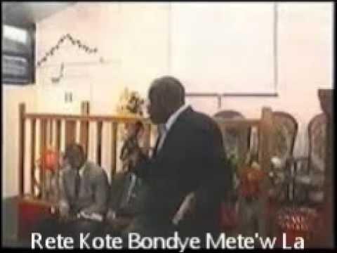 Rete Kote Bondye Mete'w La video