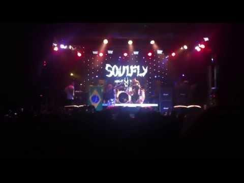 SoulFly - Arise - Igor Cavalera on drums - São Paulo - Carioca Clube
