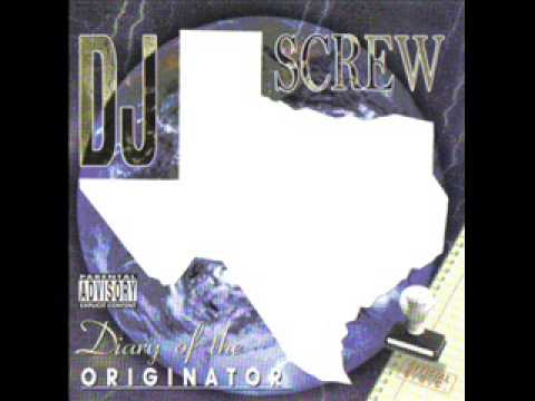 Dj Screw- Major Playa's (instrumental) video