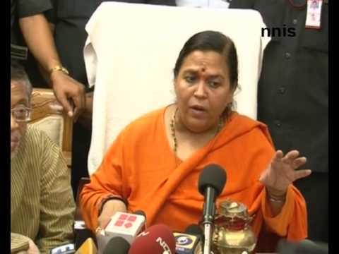 What are Sonia Gandhi's qualification? - Uma Bharti
