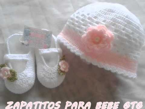 ZAPATITOS PARA BEBE GTG 4 - YouTube