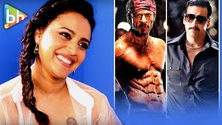 Swara Bhaskar's Rapid Fire On HOT Shah Rukh Khan | CRUSH Akshay Kumar & More