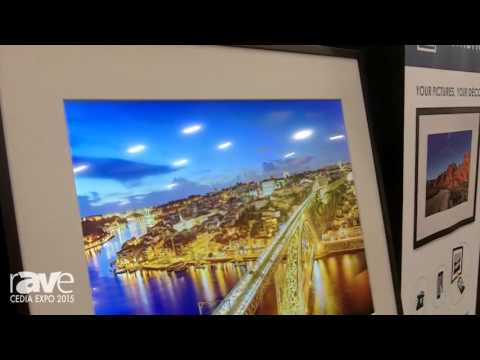 CEDIA 2015: Memento Smart Frame Offers 4K Digital Display for Showing Personal Photos
