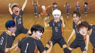 IF SEVENTEEN WERE IN HAIKYUU