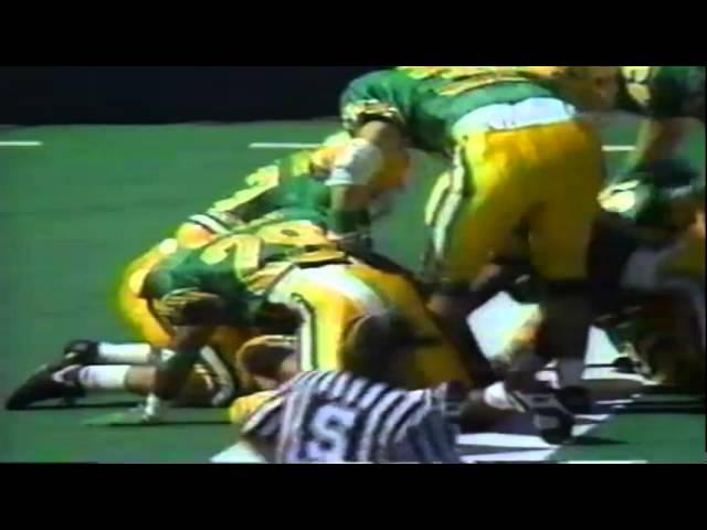 Oregon WR Ronnie Harris 87 yard punt return for touchdown vs. UNLV 9-26-92