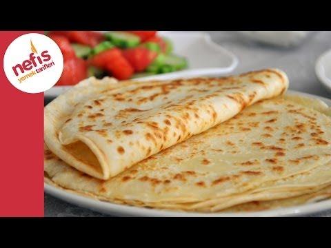 Kahvaltılık Krep Tarifi (Sesli Anlatımı Ile)   Nefis Yemek Tarifleri