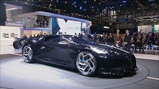 Bugatti Press Conference at the Geneva International Motor Show 2019