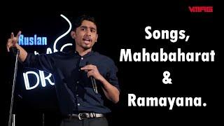 NEW NEPALI STANDUP COMEDY  Songs, Mahabharat and Ramayan  Alan Jung Thapa  Mic Drop