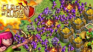 CLASH OF CLANS -SO MUCH FUCKING PURPLE! SEXY FUN 3 STAR!FUNNY MOMENTS+ FAIL MAX TROOPS(WATCH THIS)