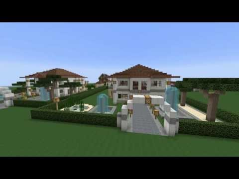 KAAN IN UNTERWASSERVILLA BEI MINECRAFT Mit Forschungslabor - Minecraft haus unter wasser bauen
