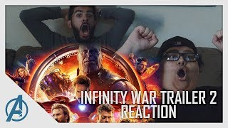 Avengers: Infinity War Trailer 2 Loud and Epic Reaction II