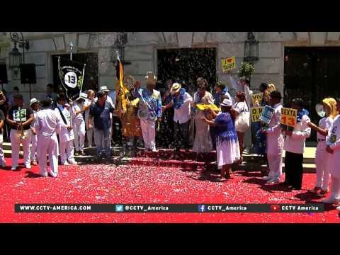 Carnival action kicks off in Rio de Janeiro