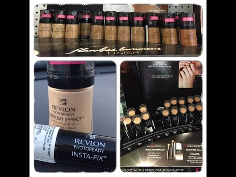New Revlon Photoready Airbrush Effect Foundation and Insta-Fix Makeup Reviews