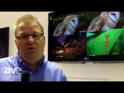 ISE 2017: tvONE Presents Multi-Window Collaboration Solutions