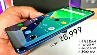 Top 5 Best budget New  Smartphones under ₹8,999 (2018)