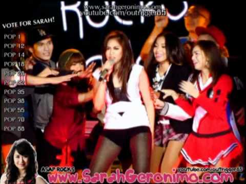 Sarah Geronimo - Who's Laughing Now [jessie J] Offcam (02oct11) video