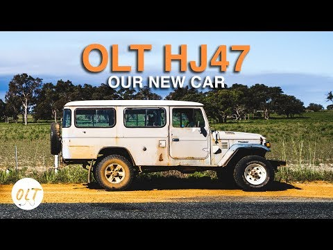 WE BOUGHT OUR DREAM CAR - But there's a catch - OLTHJ47 TRAILER