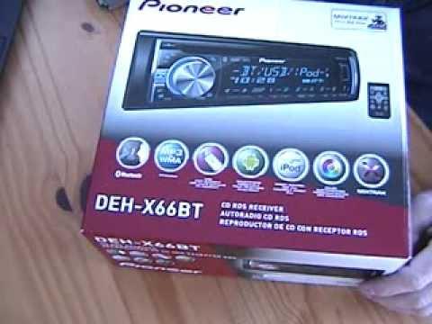03 radio review pioneer deh-x66bt (deh-x6600bt)
