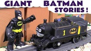 Batman Stop Motion Toys Stories with Thomas and Friends Superman Joker Cars Fun Compilation TT4U
