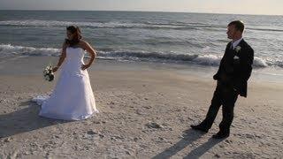 Treasure island beach house wedding