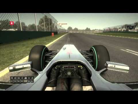 F1 2010 PC Melbourne Time Trial 1.22.281
