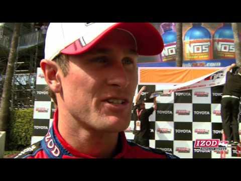 Ryan Hunter-Reay Speaks on Long Beach Victory