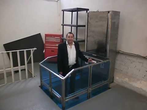 Elevador para casa de media cabina fabricado por mobility - Ascensores para casas ...