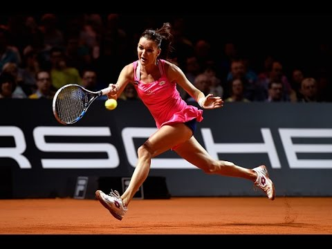 2016 Porsche Tennis Grand Prix Quarterfinal | Agnieszka Radwanska vs Ka. Pliskova | WTA Highlights
